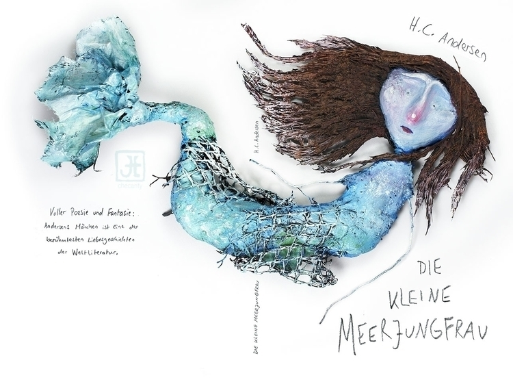 thelittlemermaid, fairytale, bookcover - checanty | ello