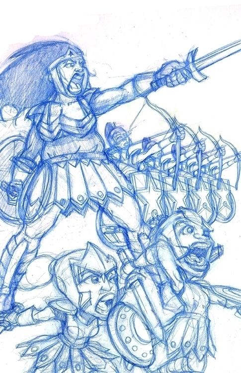 BBW Woman dwarf warriors wheelc - khalidrobertson | ello