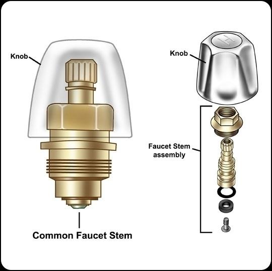 Faucet Stem technical illustrat - jasonmartin-1263 | ello