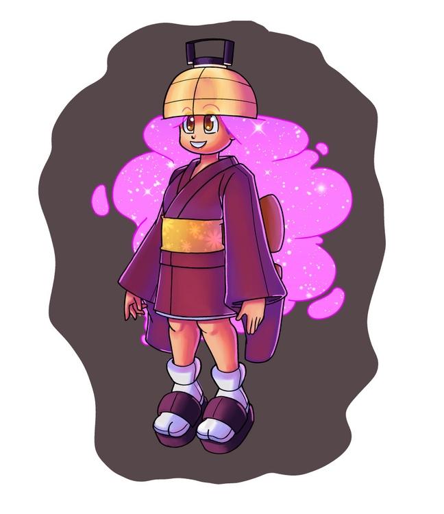 Lantern Girl - Character Concep - phons0 | ello