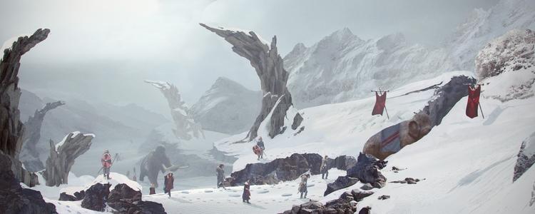 Lost World - encounter Credits - k0ori | ello