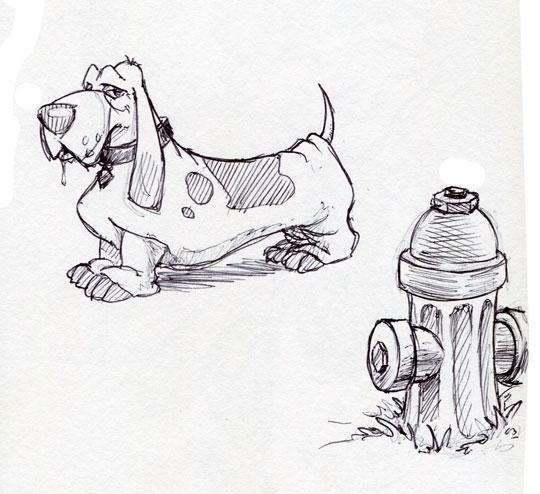 Daily Doodle archives 7-15-12 - illustration - jasonmartin-1263   ello