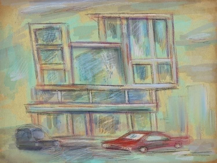 Paradise Lost (study), iPad Dig - richard_mullins | ello