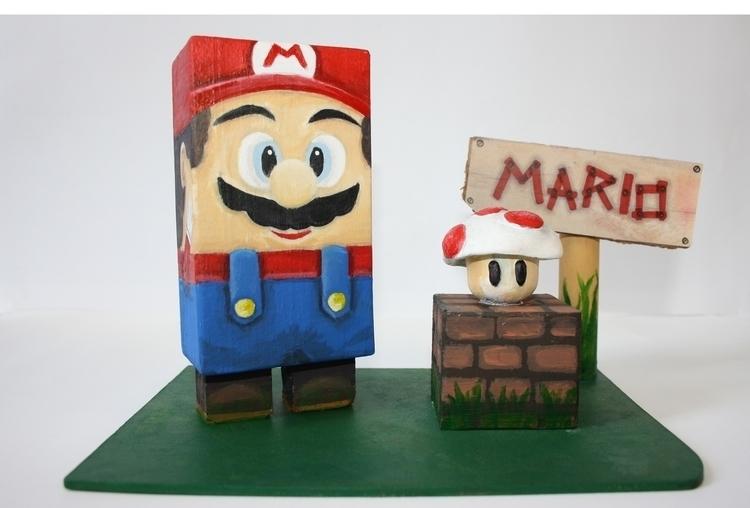 Mario Wooden toy - mario, woodentoy - rayjay-6615   ello