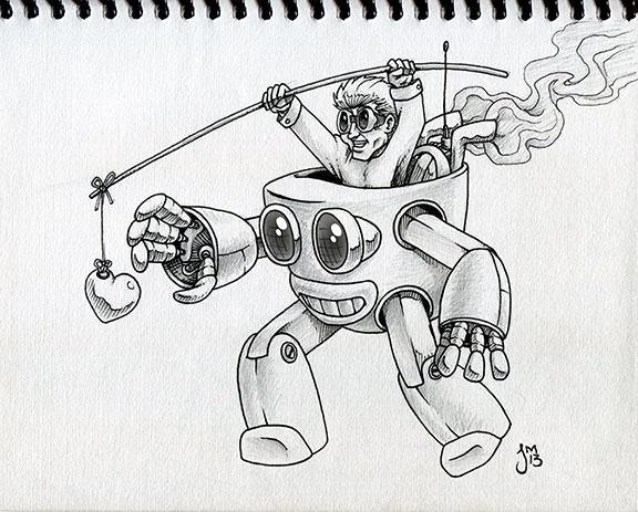 peek sketchbook. Tin Man - sketch - jasonmartin-1263 | ello