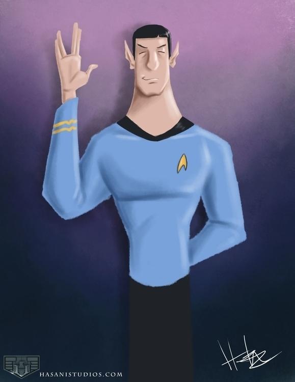 Rip Leonard Nimoy - fanart, spock - hasaniwalker | ello