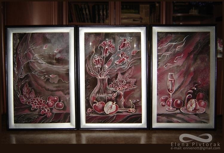 painting, fabricart, fabric, pivtorak - victorovna | ello