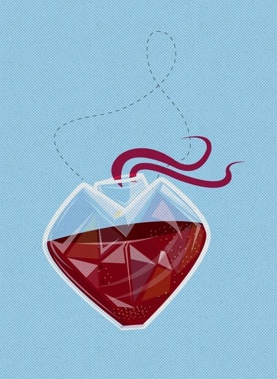 heart Nietzsche - illustration, conceptart - ruzsiankid   ello
