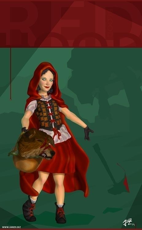 Red Hood - zbrush, illustration - janderson-7361 | ello