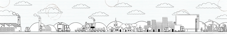 Panorama Doodle - illustration, doodle - scotty-6923 | ello