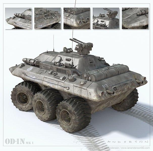 Future Tank - tank, 3d, iananderson3d - iancredible01 | ello