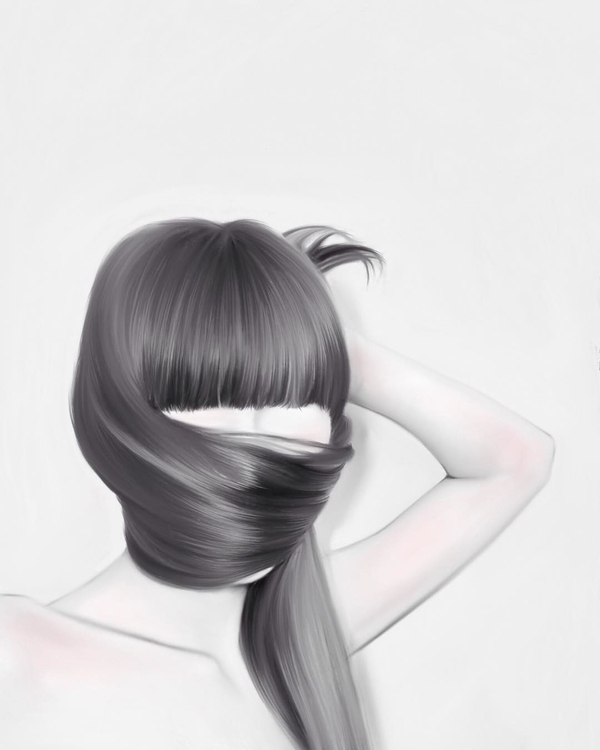 illustration, portrait, portraiture - jenny-1264 | ello