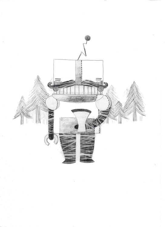 Robotic adaptation ridiculous w - laurabracamonte | ello