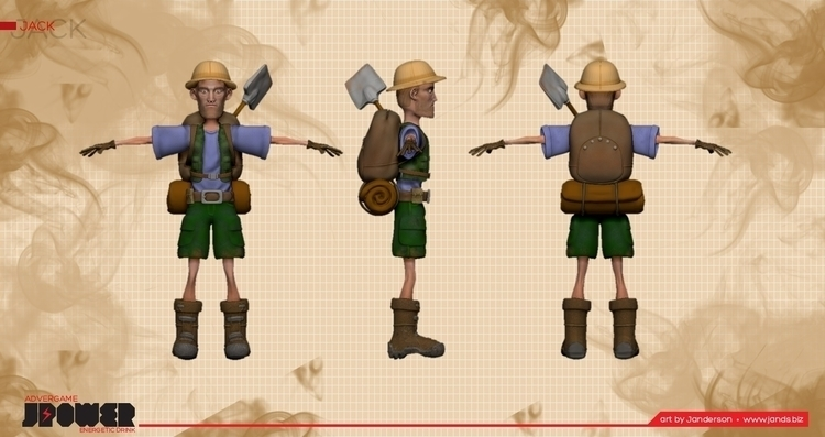 game character - characterdesign - janderson-7361 | ello