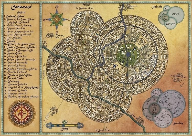 Sarkamand - map, maps, fantasymap - robertaltbauer | ello