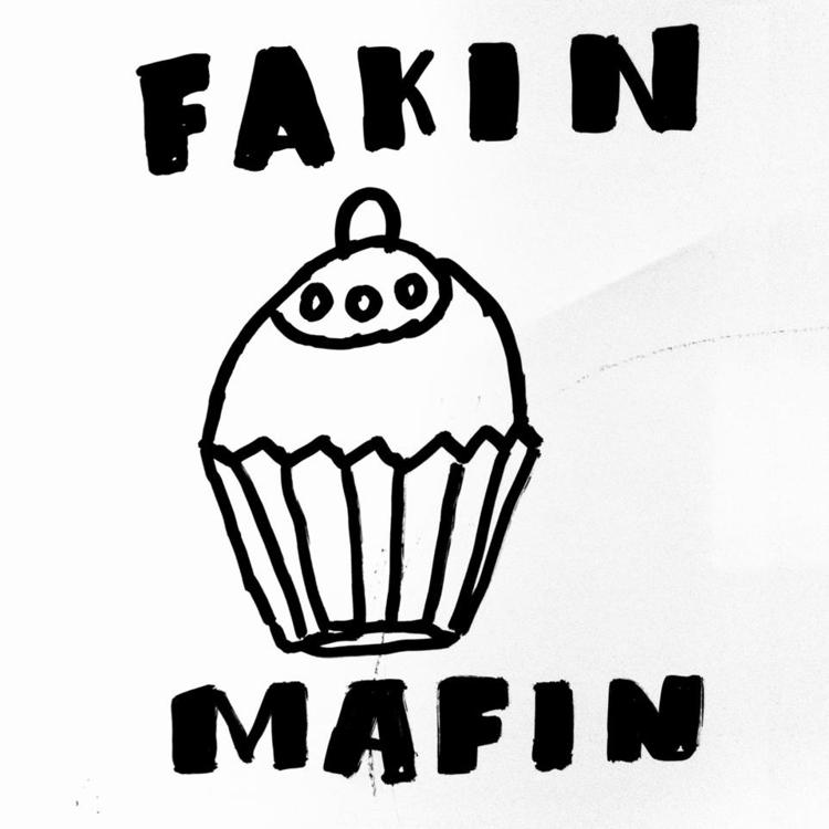 EGYBOY Fakin Mafin - black, marker - egyboy-4499 | ello