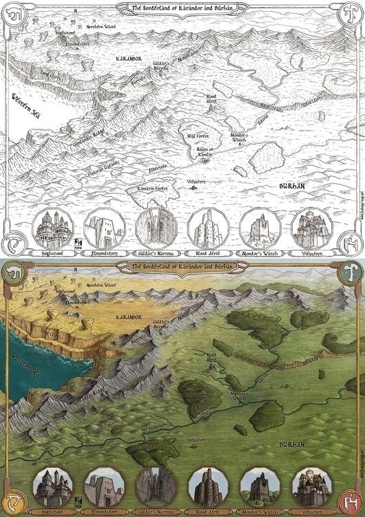 Points Light - fantasymap, maps - robertaltbauer | ello