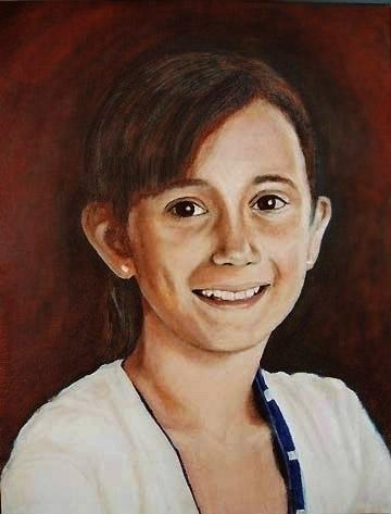 Bianca Oil canvas 12`` 16`` - sylverdesign | ello