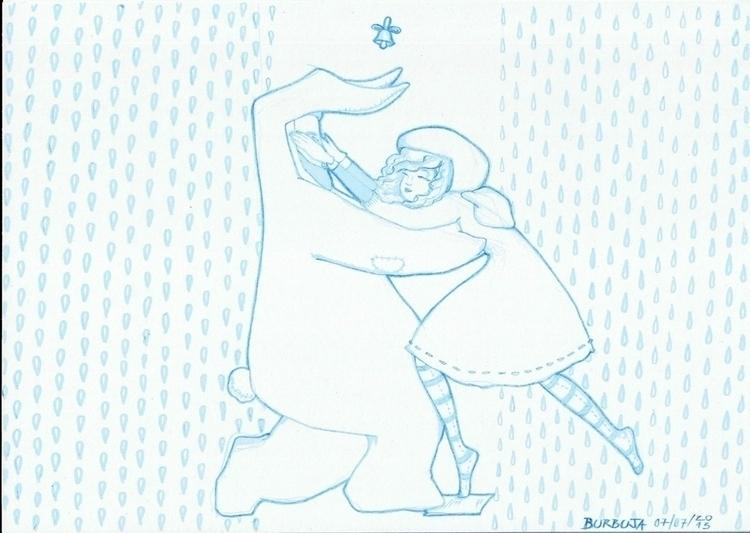 DivinaComedia - illustration, sketchbook - burbuja-8409 | ello