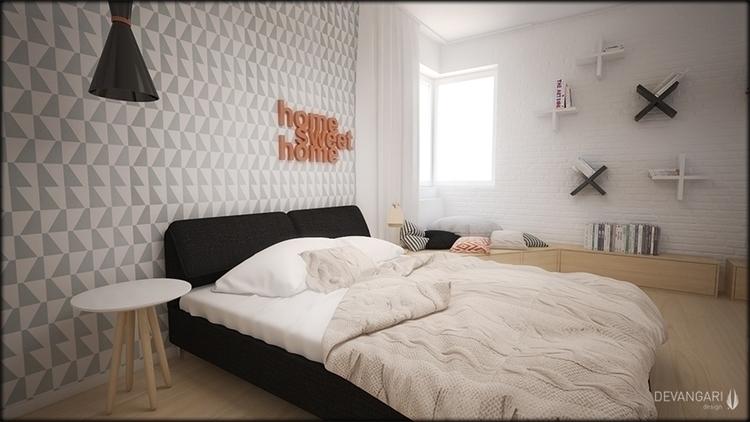 interiordesign, 3dsmax, interior - devangari-8254 | ello
