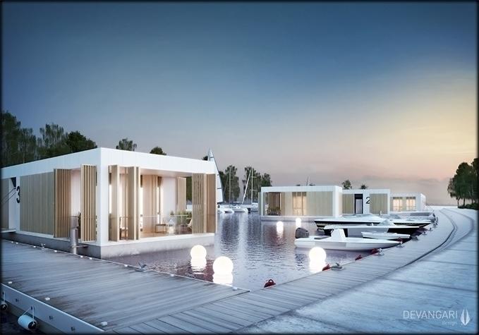 exterior, architecture, 3d, 3dsmax - devangari-8254 | ello
