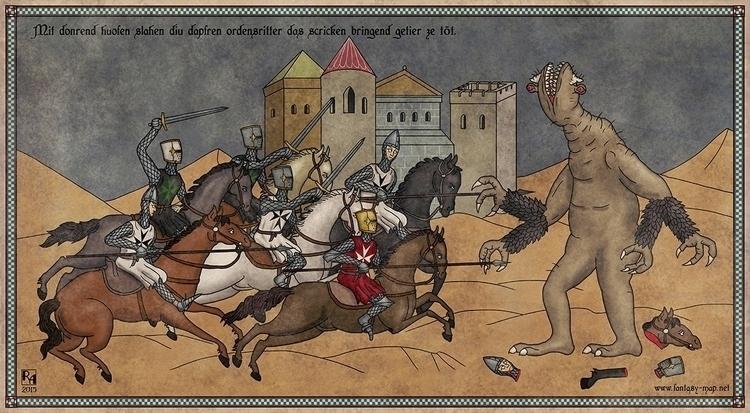 Terrible Creature - illustration - robertaltbauer | ello