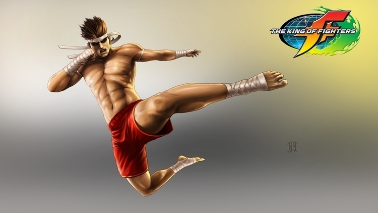 Joe_the king fighters - gameart - lnpbr_b9 | ello