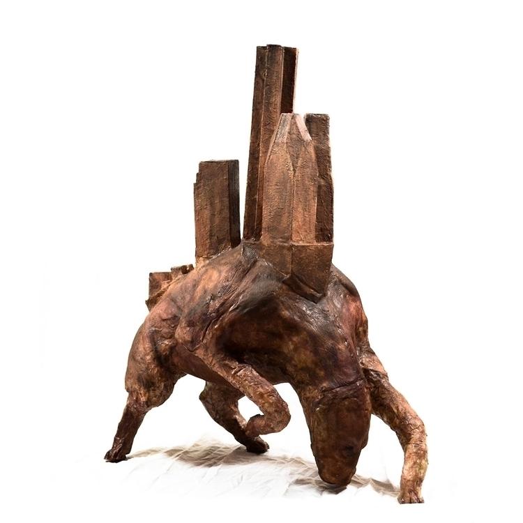 hiriendo latex sculpture - conceptart - martinspano | ello