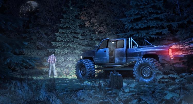 Dodge Ram Extrem Road - illustration - remytrapp | ello