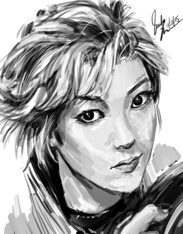 Yuga Yamato Digital Sketch - yugayamato - candaceaprillee | ello