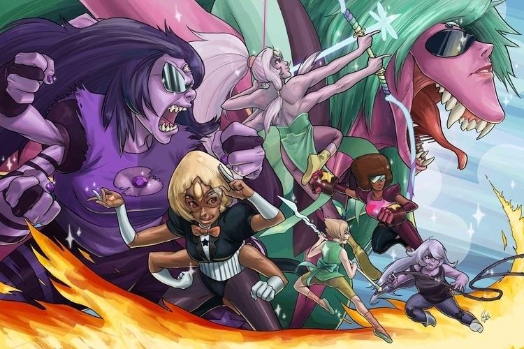 Steven Universe - Fusions - stevenuniverse - candaceaprillee | ello