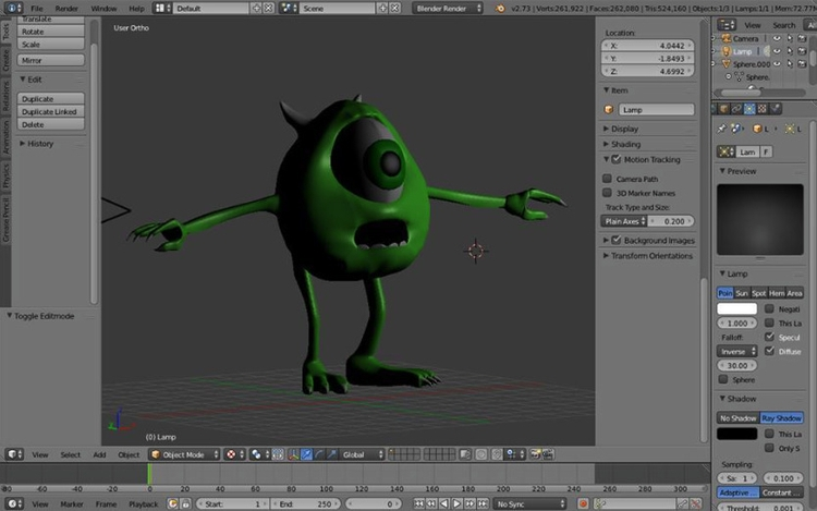 Mike Monsters - 3d, design - kestrelsb | ello