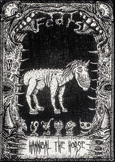 fear horses! card Fear Card ser - gonzzink | ello