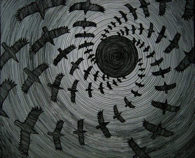 crow messenger - conceptart, drawing - lnpbr_b9   ello