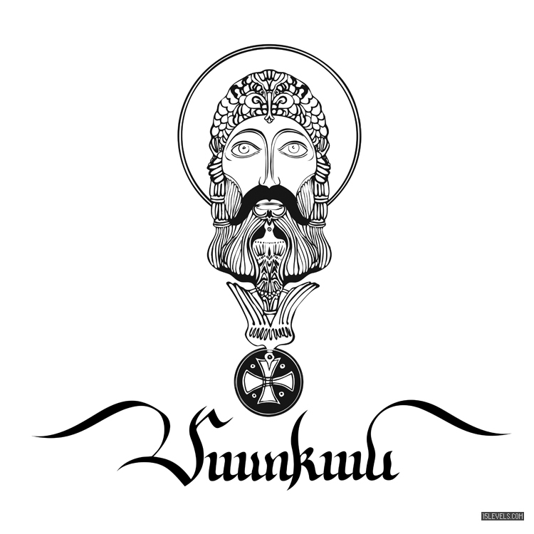 Matean - armenian, calligraphy - rubenmalayan | ello
