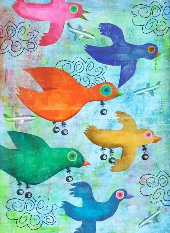 Birds Calendar Hybrid Studios - birds - anthonyforonda | ello
