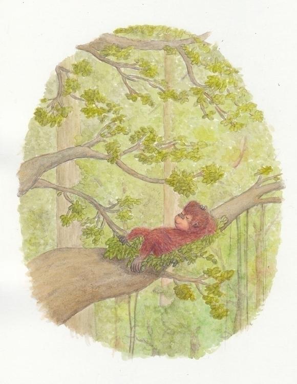 Watercolour illustration book - watercolor - ratnakusumahalim | ello