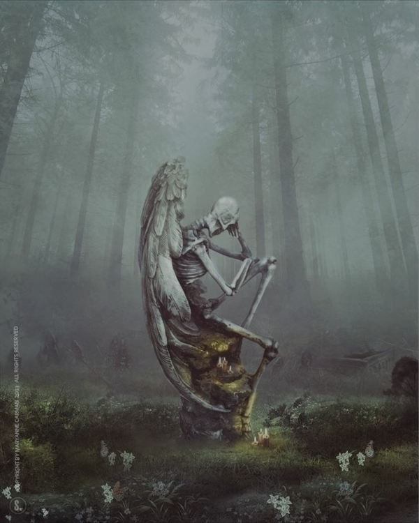 Eternal Garden - photomanipulation - soulkyrie | ello