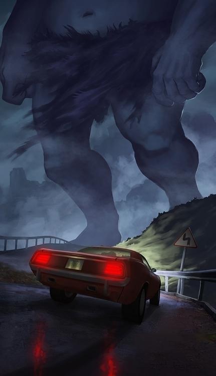 road - troll - kamilteczynski | ello