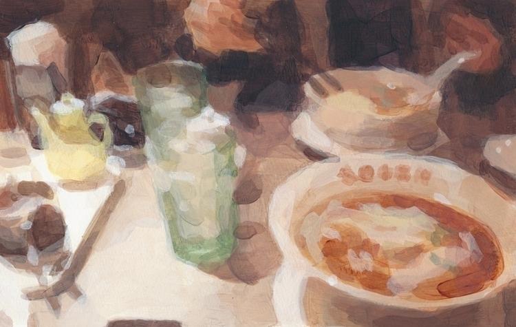 2014 - painting, acrylic - showakasugi | ello