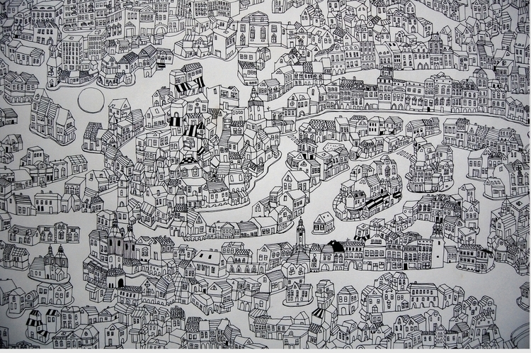 big city (1,50x 2,20) Pencil pa - kejto | ello