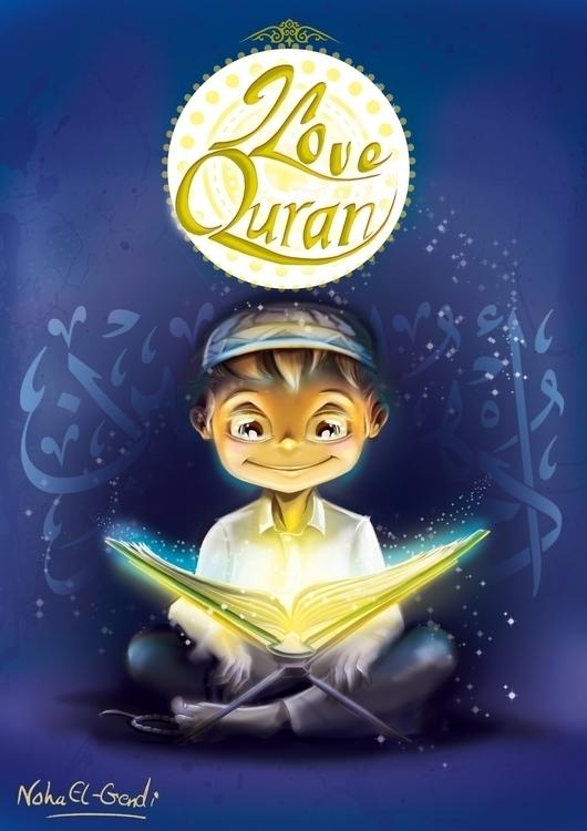 Love Quran Book Series Cover Sa - noha-el-gendi | ello