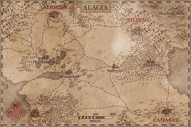 Alagia. map writer Taylor Evans - robertaltbauer | ello