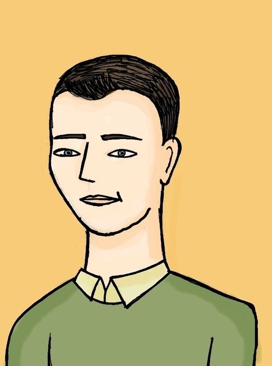 Ashley - illustration, people, office - arvindm | ello