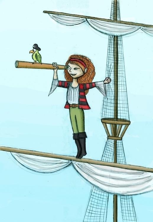 Pirate Pippa - pirate, pirates, pirateships - arvindm | ello