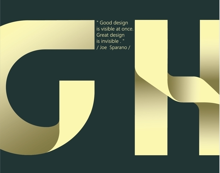type, typeface, typography, illustrator - lidiagh | ello