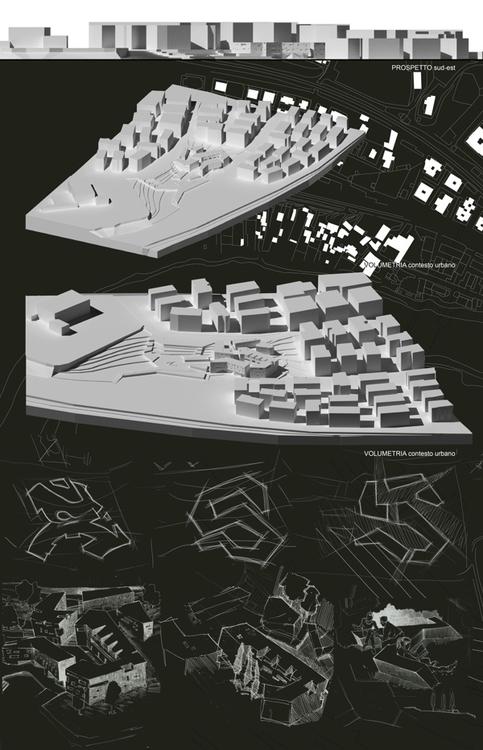 architecture, study, 3d, drawing - pompeo-1445 | ello