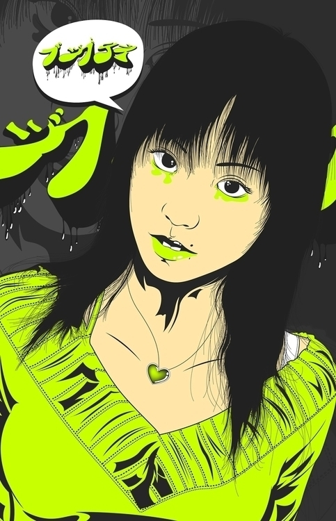 Illustration asian art - illustration - atsukosan-3588 | ello