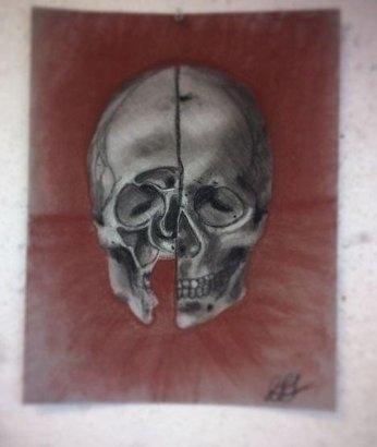 Charcoal drawing homage leonard - torresj | ello