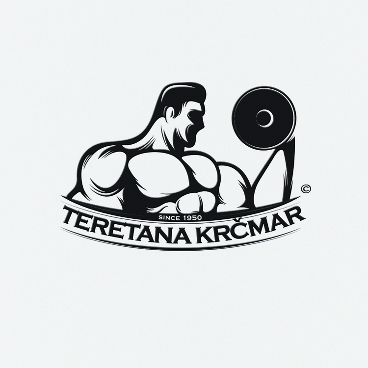Logo gym Krcmar 2015 - illustration - jovana-1168 | ello